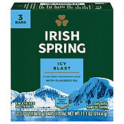 Irish Spring Deodorant Soap Bars Icy Blast