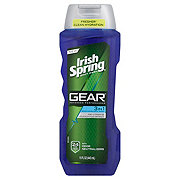 Irish Spring Gear 3-In-1 Body, Hair, and Face Wash
