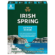 Irish Spring Irish Spring Deep Action Scrub 8 Bar Deodorant Soap