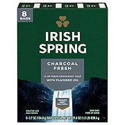 Irish Spring Pure Fresh With Charcoal Bar Soap