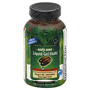 Irwin Naturals Only One Liquid-Gel Multi With Iron Liquid Soft Gel