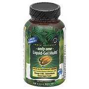 Irwin Naturals Only One Liquid-Gel Multi Without Iron Liquid Soft Gels