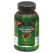 Irwin Naturals Steel Libido Red, Liquid Soft-Gels