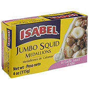 Isabel Jumbo Squid Medallions In Garlic Sauce