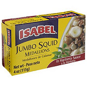Isabel Jumbo Squid Medallions In Marinera Sauce