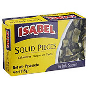 Isabel Squid Pieces In Ink Sauce