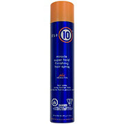 It's a 10 Miracle Super Hold Finishing Hair Spray