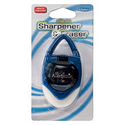 It's Academic Clip-On Sharpener And Eraser- Colors May Vary