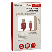 itek Indestructible Micro Cable, Red