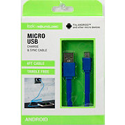 Itek Micro USB Cable Blue