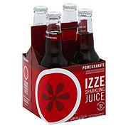 Izze Sparkling Pomegranate Juice Beverage 12 oz Bottles