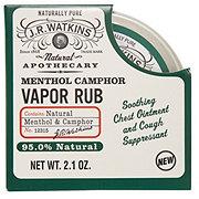 J.R. Watkins Naturals Apothecary Menthol Camphor Vapor Rub