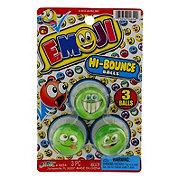 Ja-Ru Emoji Hi Bounce Balls, Colors & Designs May Vary