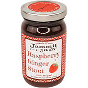 Jammit Jam Raspberry Ginger Stout Whole Fruit Spread