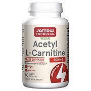 Jarrow Formulas Acetyl L-Carnitine 500 Mg Capsules