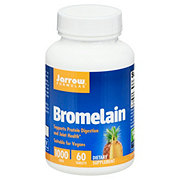 Jarrow Formulas Bromelian 500 mg Tablets