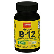 Jarrow Formulas Methyl B-12 1000 mcg Lozenges