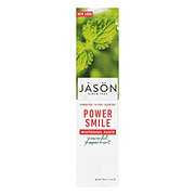 Jason Floride-Free Powersmile Whitening Toothpaste Powerful Peppermint