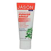 Jason Fluoride-Free Powersmile Whitening Toothpaste Powerful Peppermint