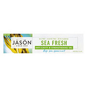 Jason Sea Fresh All Natural Anti-Cavity and Strengthening Deep Sea Spearmint Gel Toothpaste