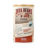 Java Beans & Joe Breakfast Blend Medium Roast Whole Bean Coffee