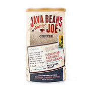 Java Beans & Joe Coffee Hawaii Coconut Macadamia Medium Roast Ground Coffee