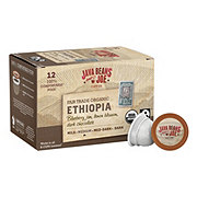 Java Beans & Joe Fairtrade Organic Ethiopia Medium Roast Single Serve Coffee Cups