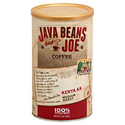 Java Beans & Joe Kenya AA Medium Roast Whole Bean Coffee