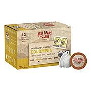 Java Beans & Joe Organic Colombia Supremo Single Serve Coffee Cups
