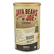 Java Beans & Joe Organic Uganda Medium-Dark Roast Whole Bean Coffee