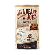 Java Beans and Joe Cocoa Spice Medium Dark Roast Ground Coffee