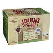 Java Beans and Joe Organic Caffe Palermo Coffee, Single Cups