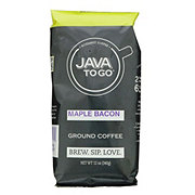 Java To Go Ground Coffee Maple Bacon