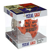 Jay Imports Texas Gals Don't Mess With Texas Women Stemless Wine Goblet