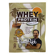 Jay Robb Chocolate Whey Protein Isolate Single Serving Packet