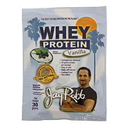 Jay Robb Vanilla Whey Protein Isolate Single Serving Packet