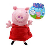 Jazwares Peppa Pig Assorted Hug n Sound Plushies