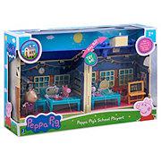 Jazwares Peppa Pig Deluxe School Playset