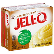 Jell-O Coconut Cream Instant Pudding Mix