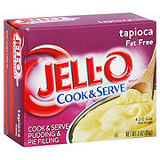 Jell-O Cook & Serve Fat Free Tapioca Pudding Mix