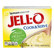 Jell-O Cook & Serve Lemon Pudding Mix