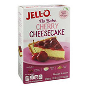 Jell-O No Bake Cherry Cheesecake Dessert