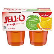 Jell-O Original Orange Gelatin Snacks