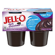 Jell-O Reduced Calorie Dark Chocolate Flavor Pudding Snacks