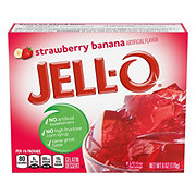 Jell-O Strawberry Banana Gelatin Dessert Mix