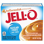 Jell-O Sugar Free Butterscotch Instant Pudding Mix