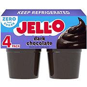Jell-O Sugar Free Dark Chocolate Flavor Pudding Snacks