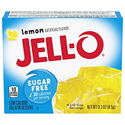 Jell-O Sugar Free Lemon Gelatin Dessert Mix