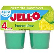 Jell-O Sugar Free Lemon-Lime Gelatin Snacks