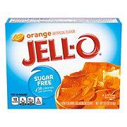 Jell-O Sugar Free Orange Gelatin Dessert Mix